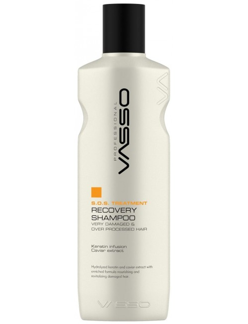 Professional hair restoration shampoo VASSO S.O.S TREATMENT SHAMPOO, 270ml