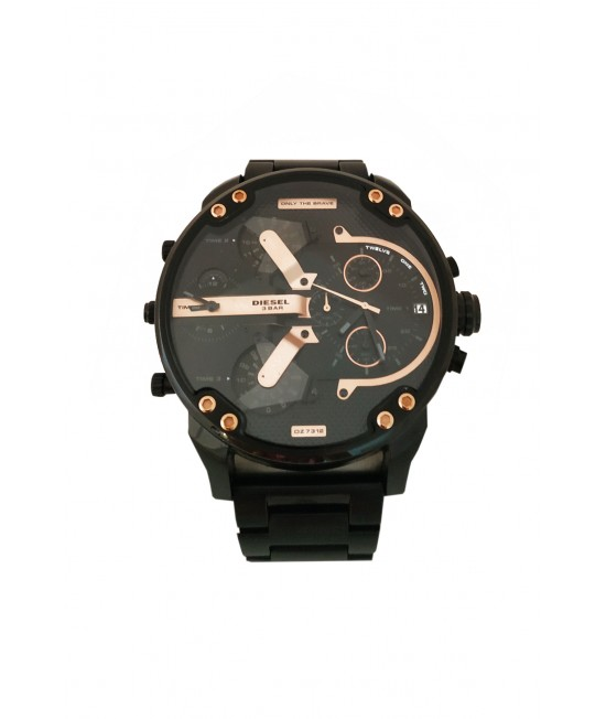 Men's Watch Diesel Mr. Daddy 2.0 Black IP DZ7312