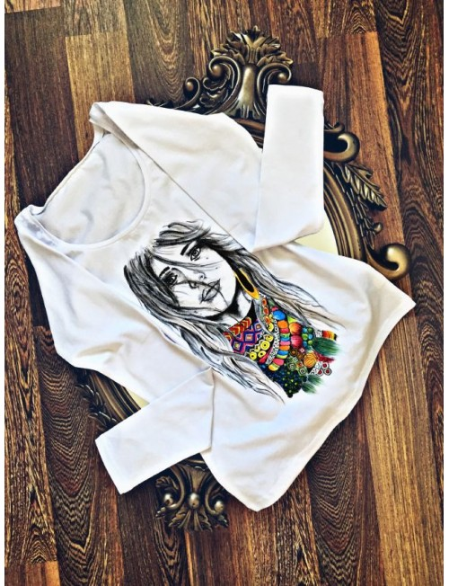 "Boutique Ladies T-shirt ""Lady"""