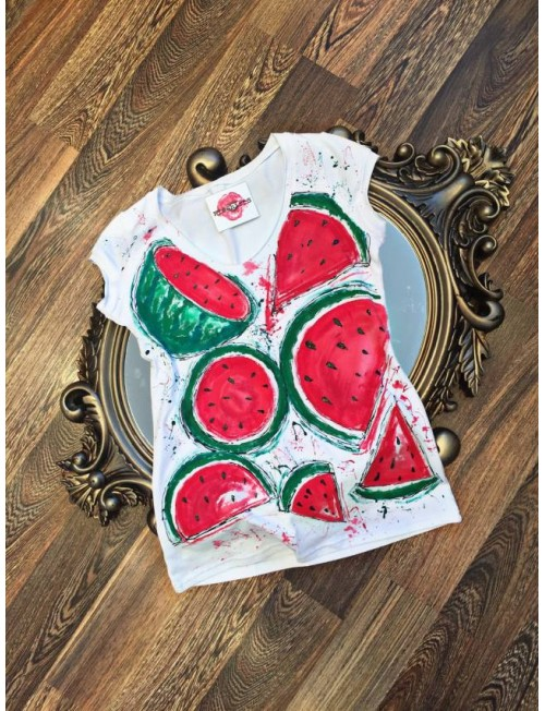 "Boutique Ladies T-shirt ""W-Mellon"""
