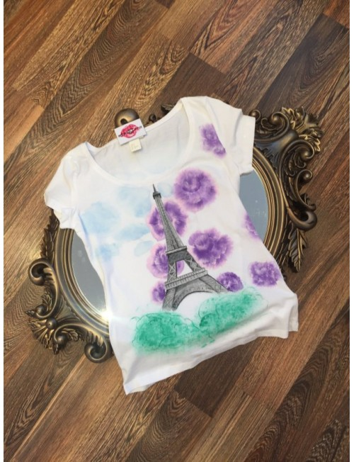 "Boutique Ladies T-shirt ""Paris"""