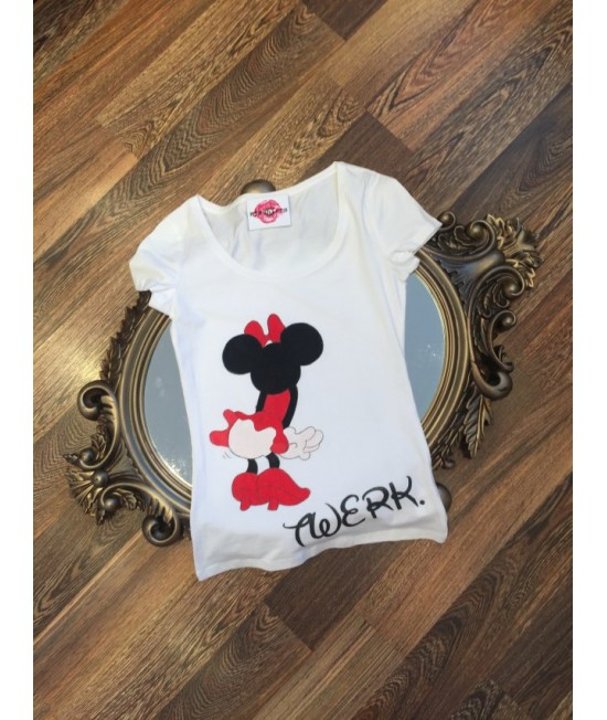 "Boutique Ladies T-shirt ""Twerk"""