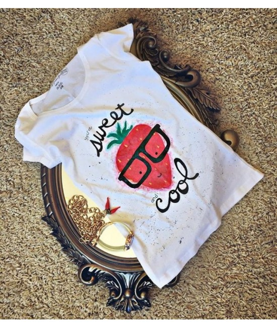 "Boutique Ladies T-shirt ""Sweetness"""