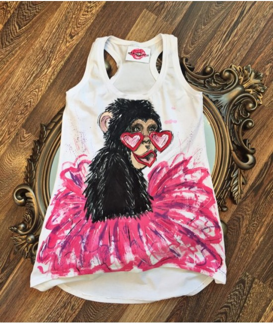 "Boutique Ladies T-shirt ""Ape"""