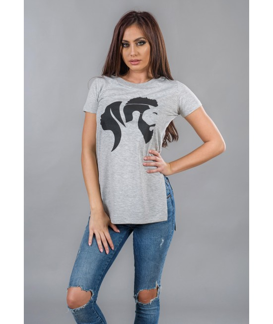 Ladies long t-shirt BW114