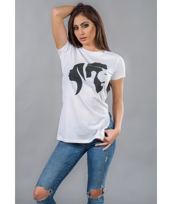 Ladies long t-shirt BW116