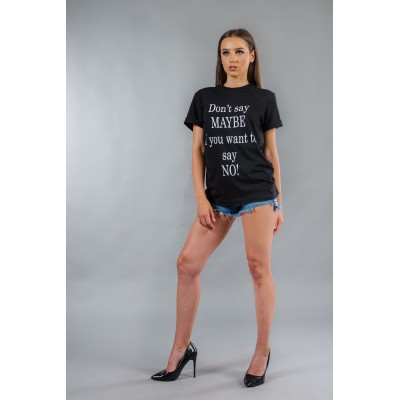 Ladies oversize t-shirt BW143