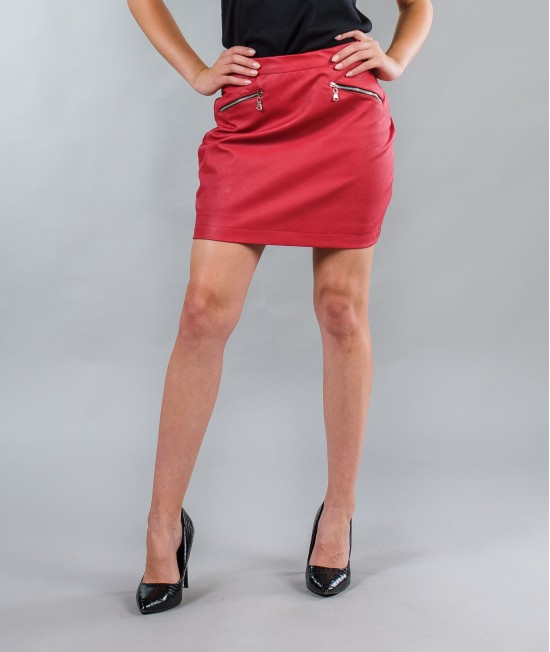 Ladies leather skirt BW152