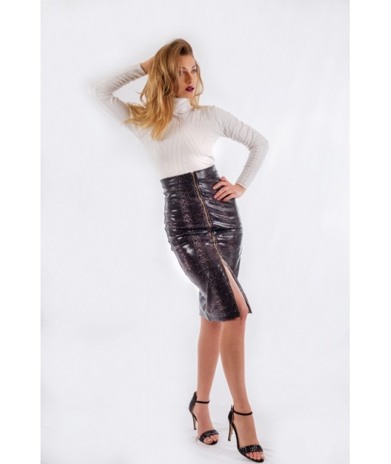 Ladies long skirt with high waist BW157