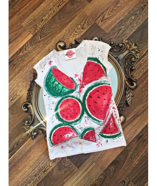 """Boutique Ladies T-shirt """"WaterMell"""""""